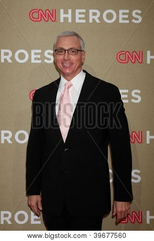 LOS ANGELES - DEC 2:  Dr Drew Pinsky arrives to the 2012 CNN Heroes Awards at Shrine Auditorium on December 2, 2012 in Los Angeles, CA