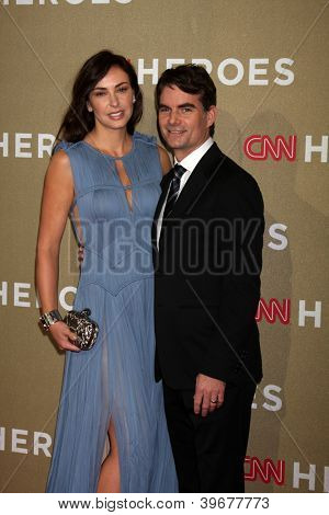 LOS ANGELES - DEC 2:  Jeff Gordon arrives to the 2012 CNN Heroes Awards at Shrine Auditorium on December 2, 2012 in Los Angeles, CA