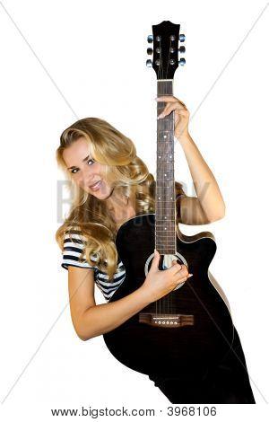 Lady Guitarist