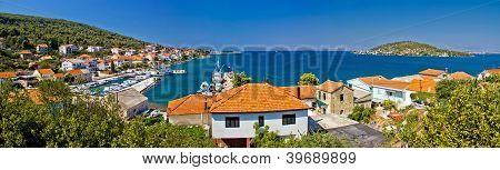 Island Of Ugljan Colorful Panorama
