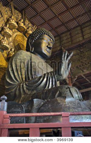 Buddha Vairocana (Daibutsu) At Todai-Ji, Nara, Japan