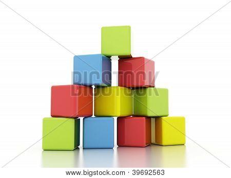 Building Block Multi Color