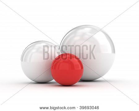 Red Unique Ball