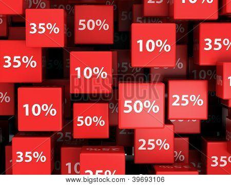 Discount design background