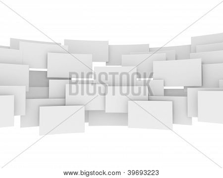 Blank 3D Squares