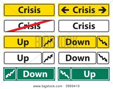 Crisis Direction Sign