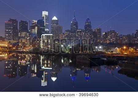 Horizonte de Philadelphia.