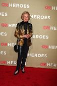 LOS ANGELES - DEC 2:  Tippi Hedren arrives to the 2012 CNN Heroes Awards at Shrine Auditorium on Dec