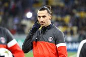 Zlatan Ibrahimovic Of Fc Paris Saint-germain