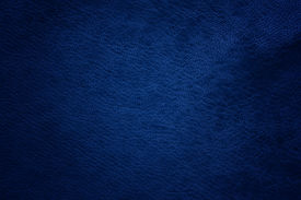 stock photo of buckskin  - dark blue leather texture for a background - JPG