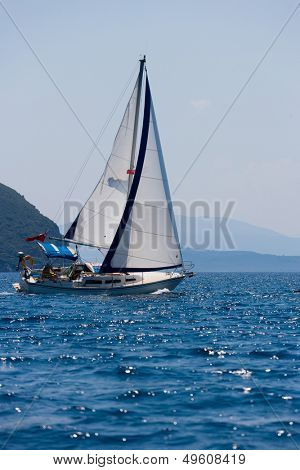 Sailing holidays in Greece around Lefkas island