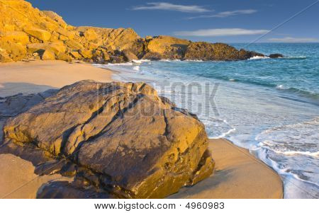 Beach At Dusk, Oxnard, Ca
