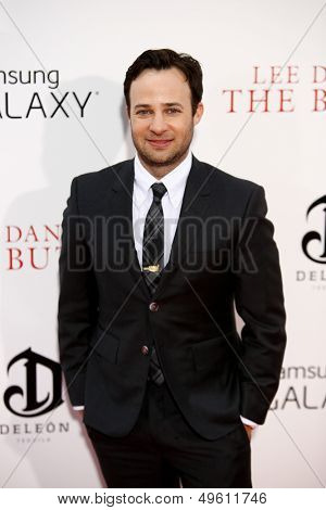 NEW YORK-AUG 5: Screenwriter Danny Strong attends the premiere of Lee Daniels'