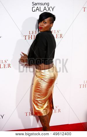 NEW YORK-AUG 5: Singer Fantasia Barrino attends the premiere of Lee Daniels'
