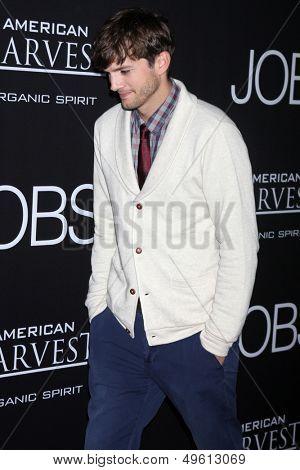 LOS ANGELES - AUG 13:  Ashton Kutcher at the