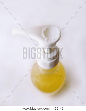 Hand Pump Bottle Open Stop