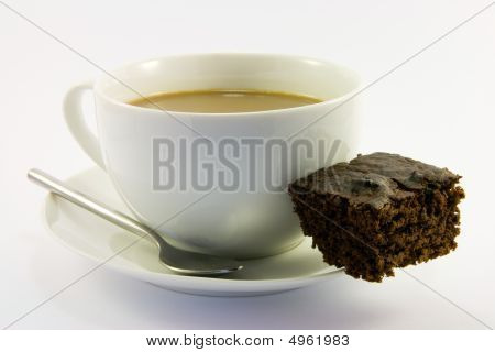 Brownie And Tea