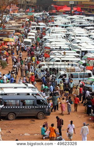 Life In An African Bus Station
