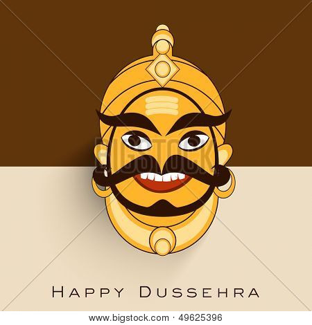 Indian festival Happy Dussehra background