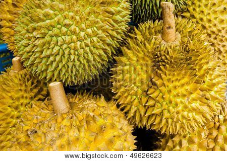 Group of durian