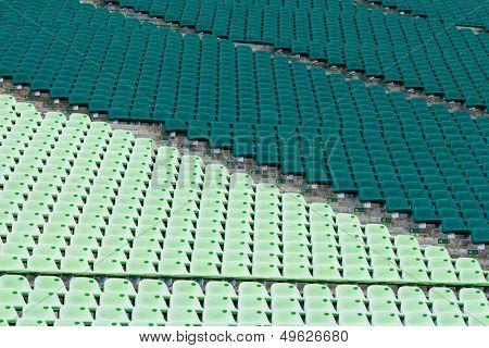 Sport arena seat