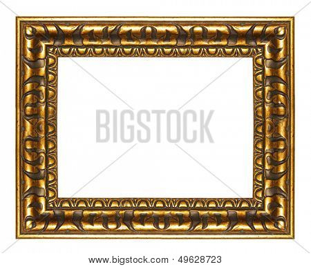 wooden frame in egyptian style
