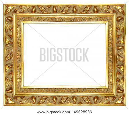 carved antique gilded frame (more frames in my gallery)