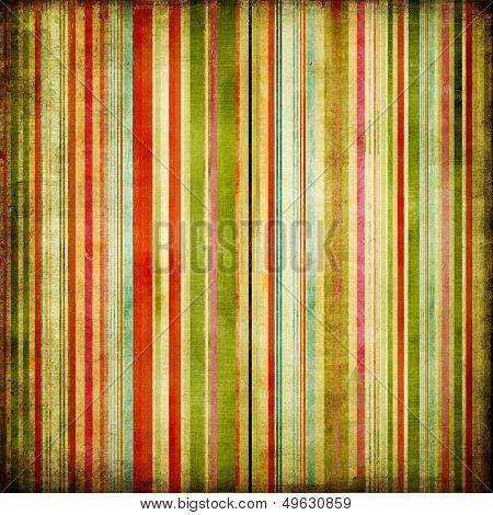 retro colored striped background