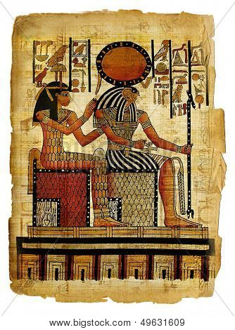 ancient egyptian parchment