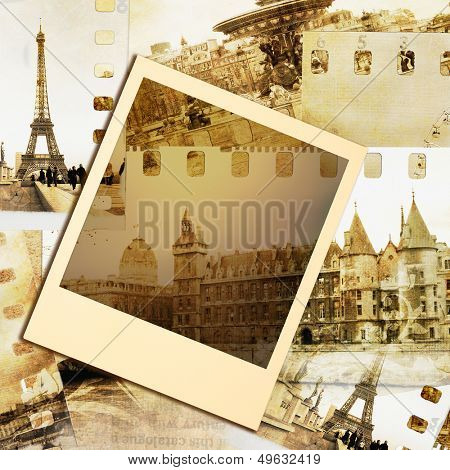 vintage photoalbum- Paris
