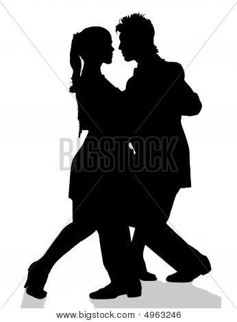 Tango / siluetas