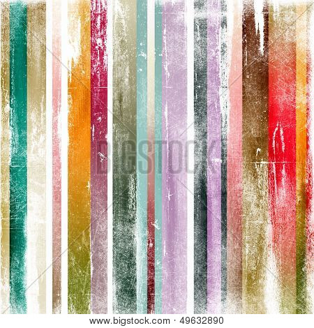 grunge painted stripes