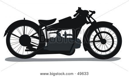 Motorbike Silhouette