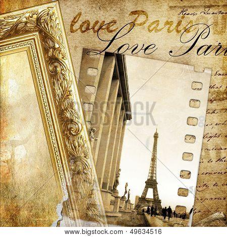 vintage photoalbum series - Paris