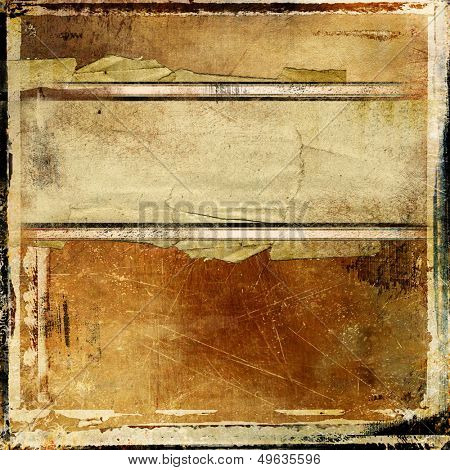 grunge vintage background with place for text