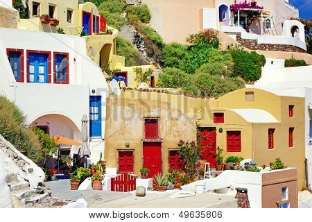 colors of Greece - Santorini