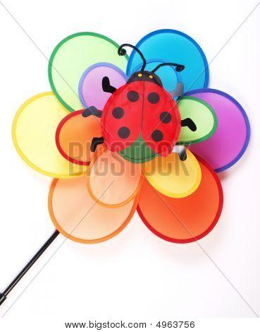Colorful Childrens Pinwheel