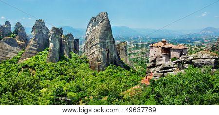 Meteora Monasteries - wonder of Greece