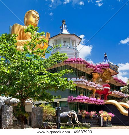 temple in Dambulla Sri lanka