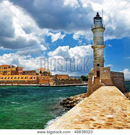 beautiful Greek islands series - Crete