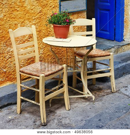 traditional Greece series - small tavernas