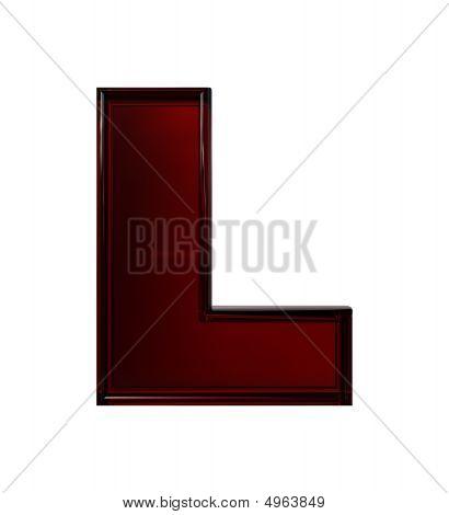 Plastic Letter L