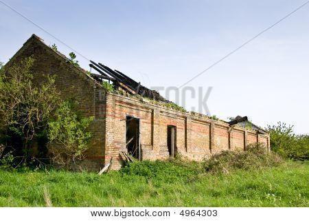 Springfield Hall Derelict Farm Building
