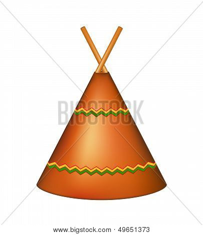 Wigwam, Indian teepee