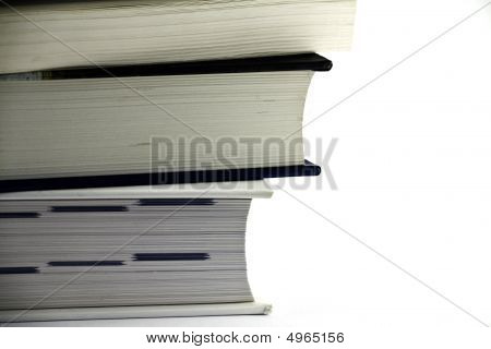 Stack Of Books - Close Up