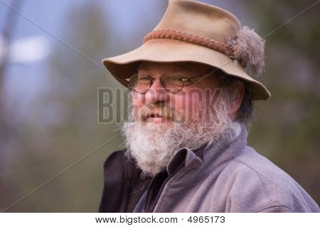 Hillbilly Rugged Mountain Man