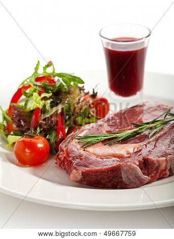 Rib Eye Steak with Thyme