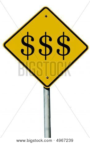 $ Road Sign