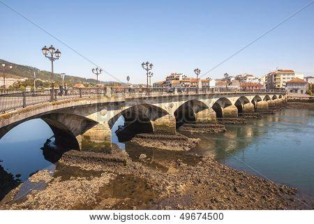 Ponte De Burgo Bridge, Pontevedra, Galicia