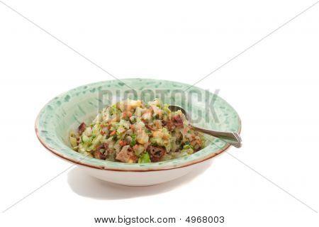 Simple Asian Cuisine In Bowl